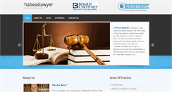 Preview of habeaslawyer.net