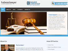 Tablet Preview of habeaslawyer.net